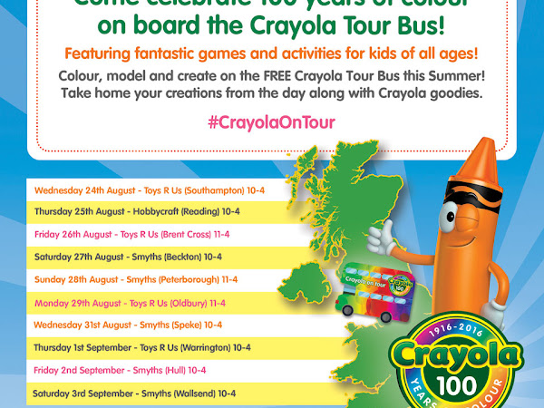 100 Years Of Colour Crayola Giveaway