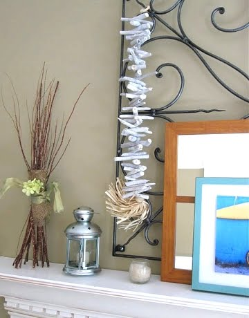 beach mantel