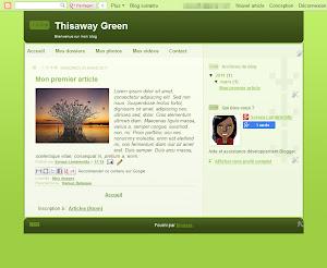 Thisaway Green Theme