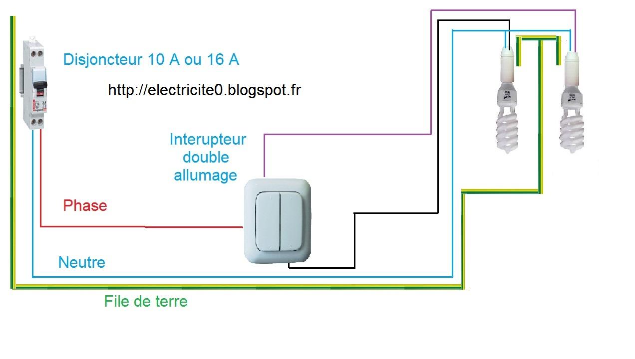 Extrêmement Electricité : Schéma électrique du double allumage IQ41