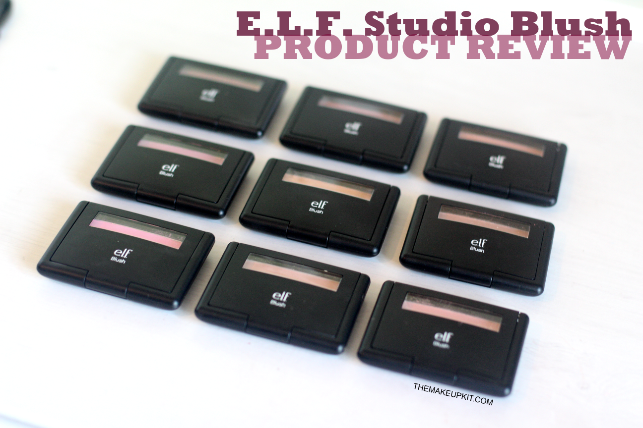 ELF Studio Blush Collection Packaging