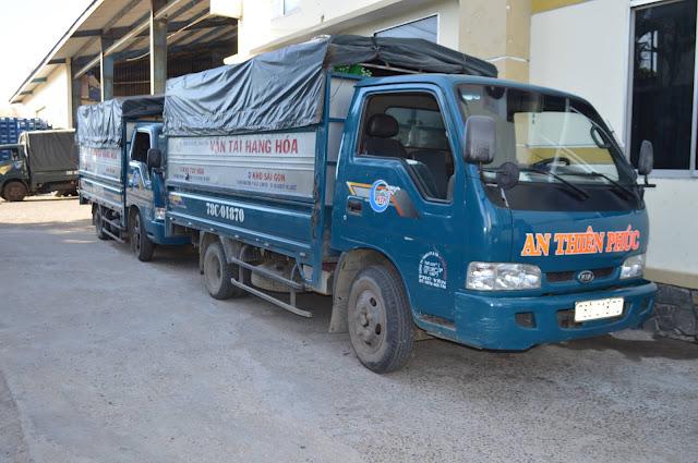 Dịch vụ vận tải hàng hóa tại Phú Yên - Hệ thống trung chuyển trong nội thành