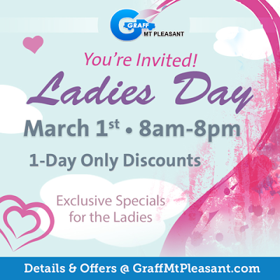 Celebrate Springtime with Ladies Day at Graff Mt. Pleasant