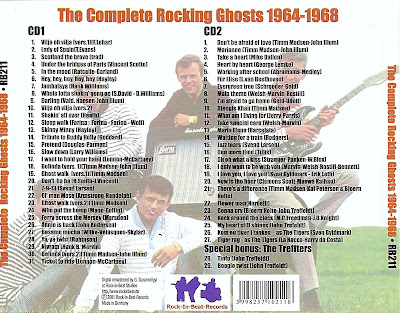 The Rocking Ghosts - Complete Rocking Ghosts (1964-1968)