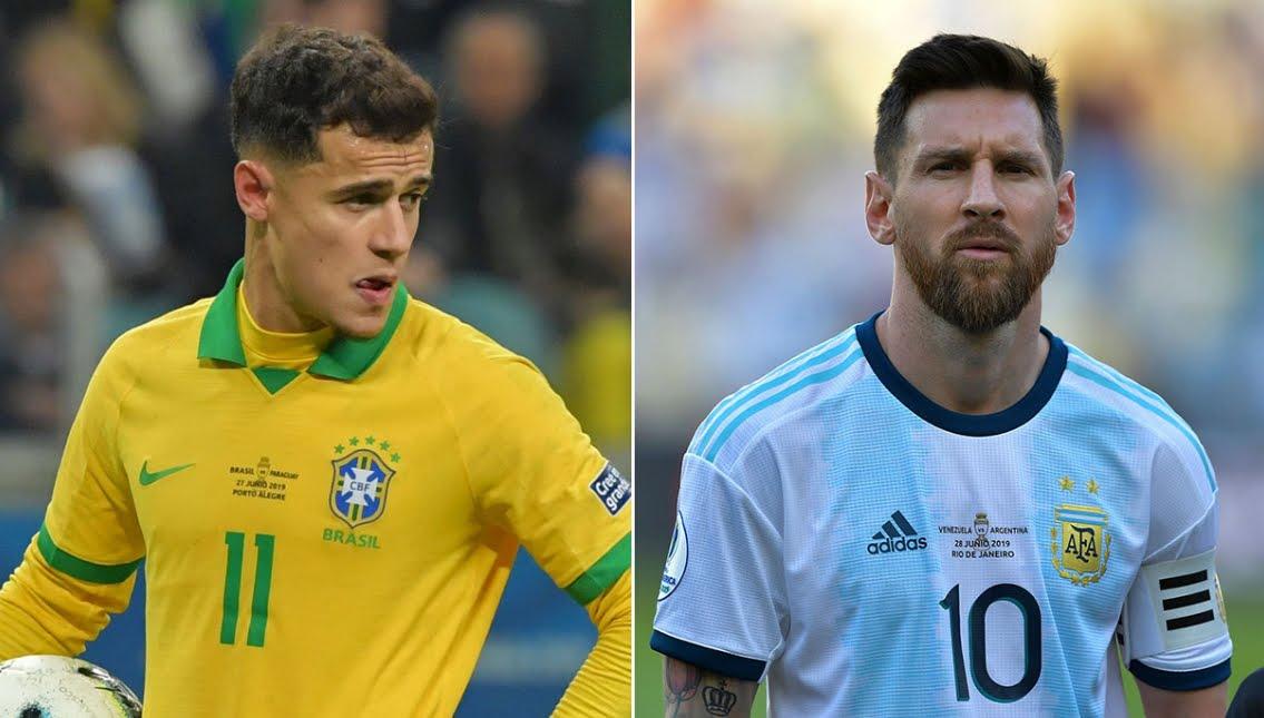 Rojadirecta BRASILE ARGENTINA Streaming e Diretta TV, dove vedere la semifinale di Coppa America 2019.