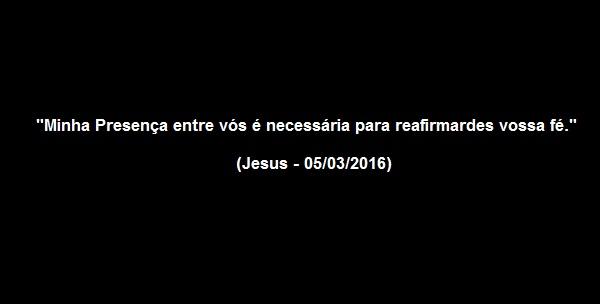 Jesus - Necessito de fé sincera!