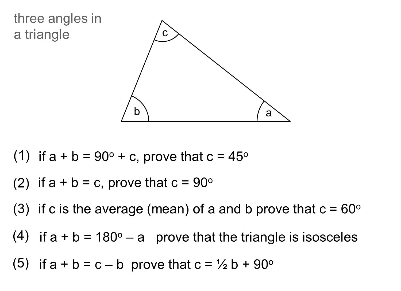 Median Don Steward Mathematics Teaching Angle Proofs