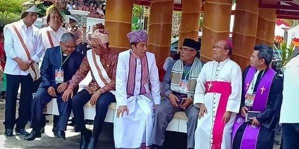 Viral Jokowi Resmikan Patung Yesus, Istana Bilang Begini