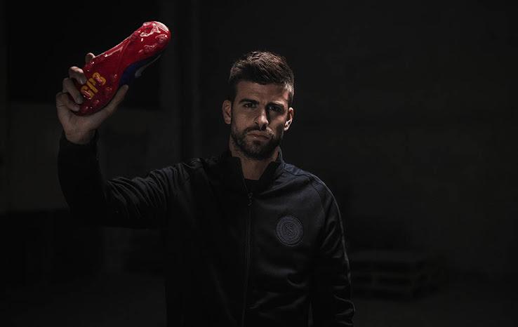 Conocé los exclusivos botines Nike para Piqué