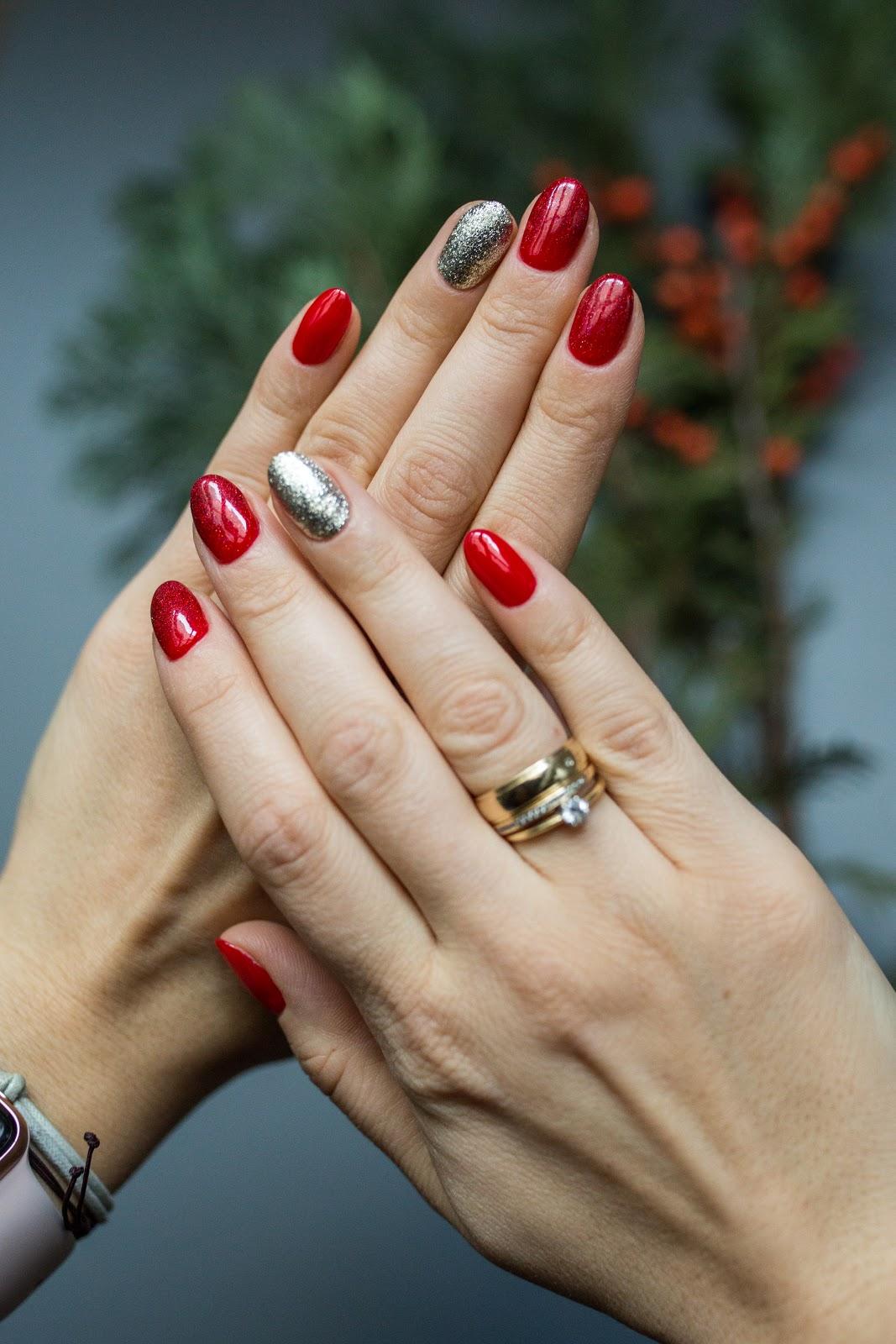 Manicure Hybrydowy Swiatecznie Z Neonail Agata Ma Nosa