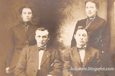 Ulysses and Sadie Jollett, Vic and Decatur Breeden https://jollettetc.blogspot.com