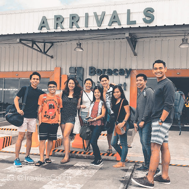 The Laagan Team at Caticlan Airport. Picture by TravelersCouch