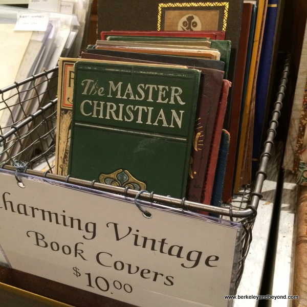 vintage book covers at Argosy Book Store in NYC