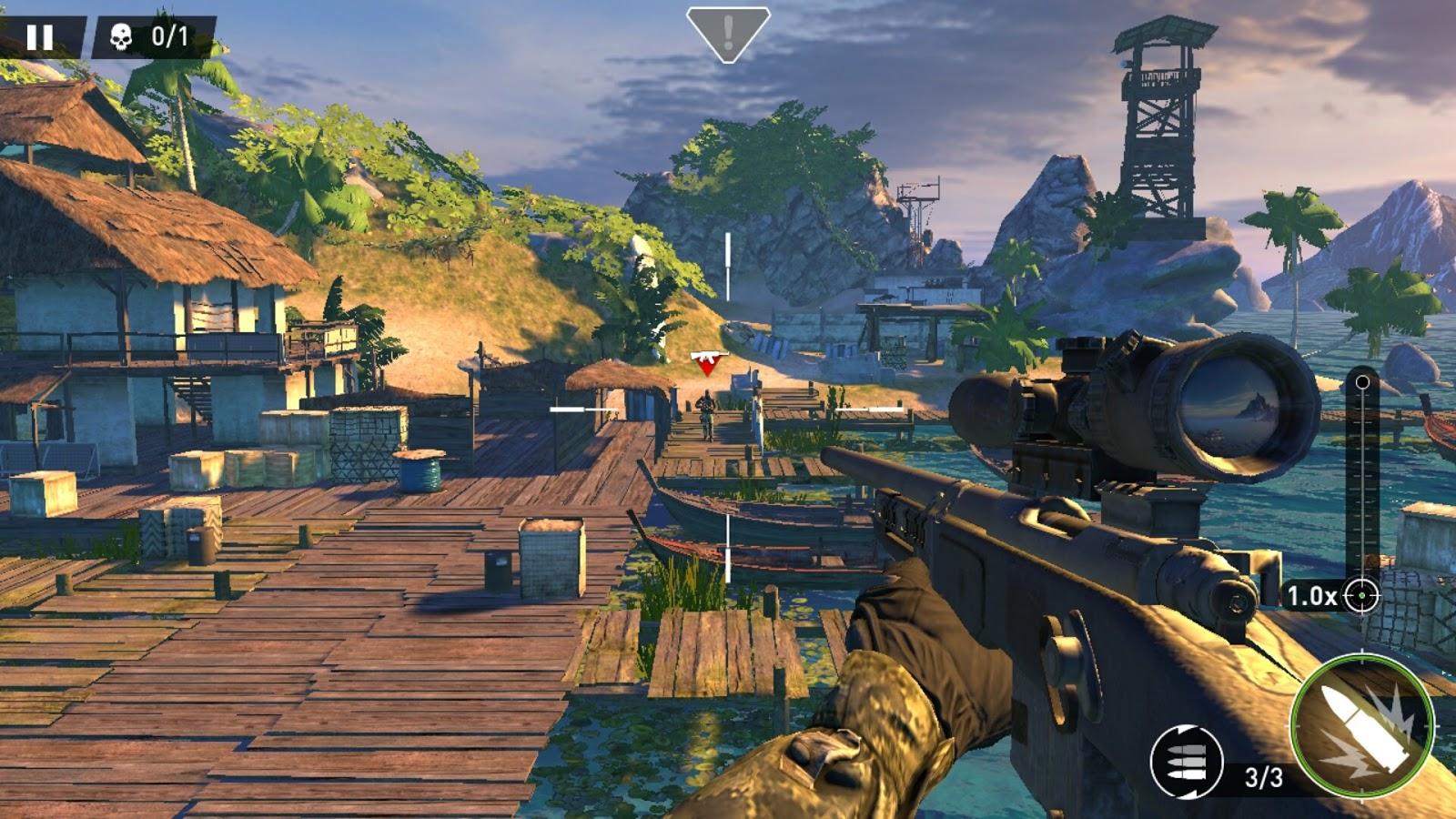 تحميل لعبة3 Sniper Ghost Warrior للأندرويد APK