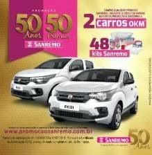 Promoção Sanremo 50 Anos 50 Prêmios - Aniversário 2019