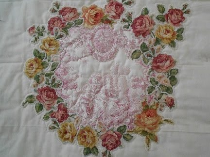 BRODERIE PERSE Workshop 15 april bij Quilt Studio het Gooi