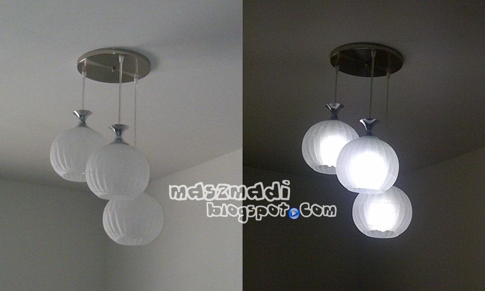 Deko Teratak Kami Lampu Houses Lighting Bila Dah Gantung