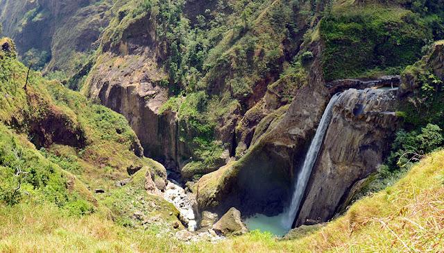 Air Terjun Penimbungan, Kawasan Taman Nasional Gunung Rinjani