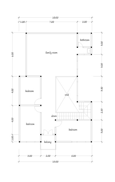 house with floor area of 250 square meters -06