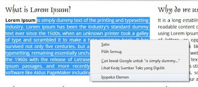 Mengetahui Nama Font di Website