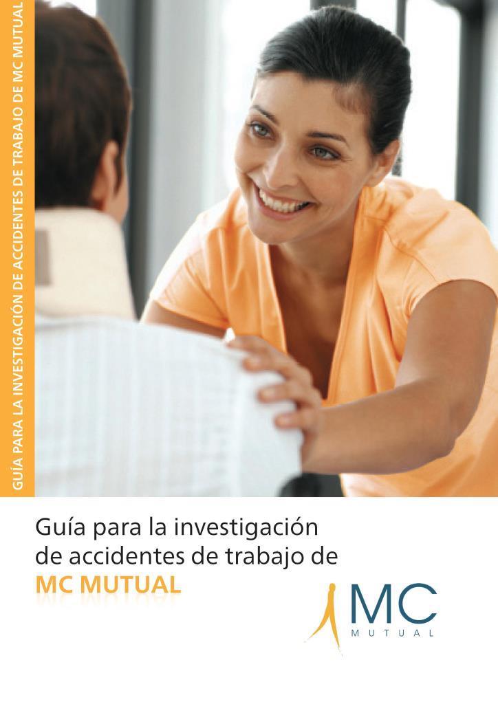 Guía para la investigación de accidentes de trabajo de MC Mutual