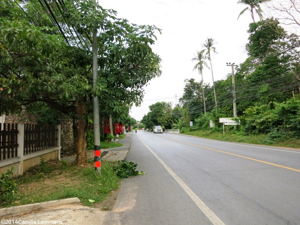 Ring road South of Lamai