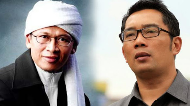 Pernyataan Menohok dari AA Gym ini Ditujukan ke Ridwan Kamil?