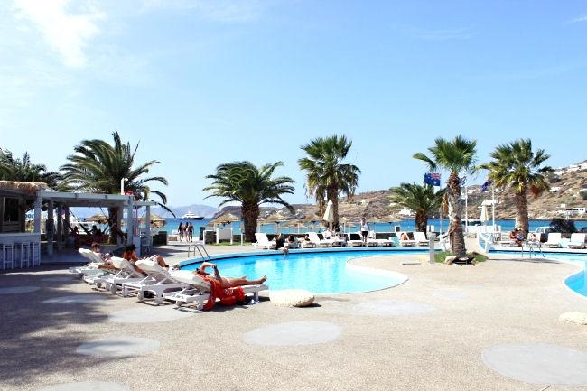 Far out beach club pool