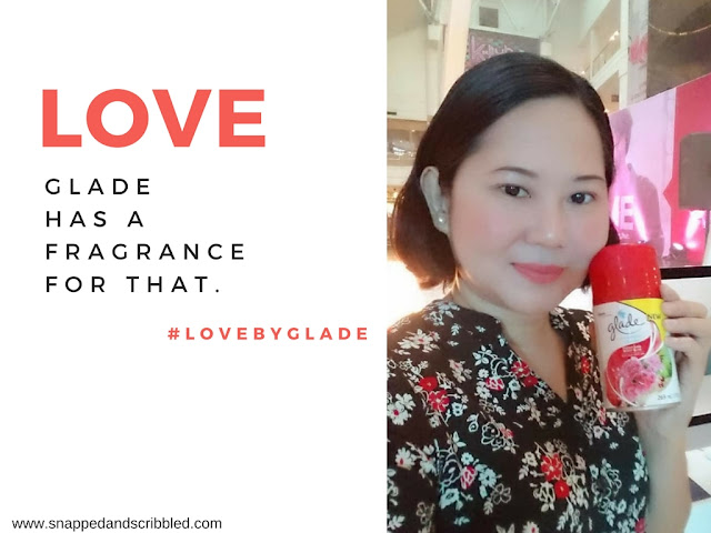 Love Is In The Air With Glade Peony and Berry Bliss