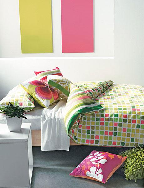 Quarto decorado a rosa e verde ~ Decoração e Ideias casa  ~ Quarto Rosa Decorado