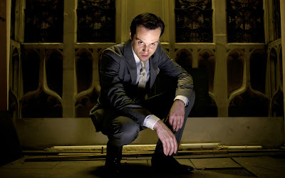 Andrew Scott as Jim Moriarty in BBC Sherlock