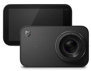 Vista frontal y trasera de la cámara Xiaomi Mijia 4K