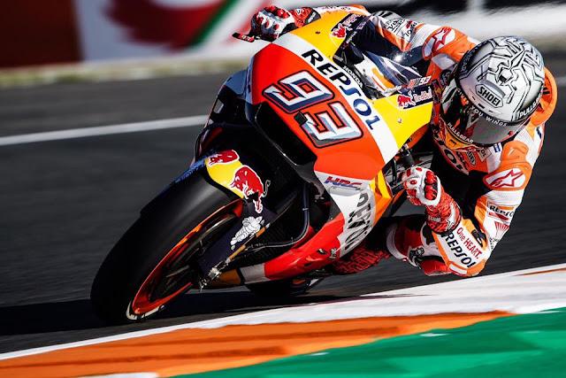 MotoGP Seri Akhir, Marquez Juara Dunia Keenam Kalinya di ...