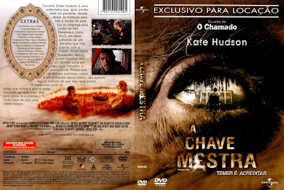 Filme A Chave Mestra (The Skeleton Key) DVD Capa