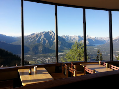 Northern Lights Cafe, Sulphur Mountain, Banff