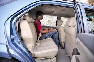 new toyota fortuner seating