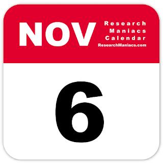 Peristiwa dan Kejadian Penting Tanggal 6 November