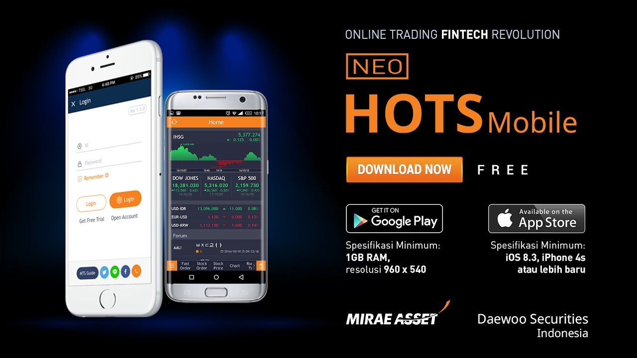 Hots home online trading system