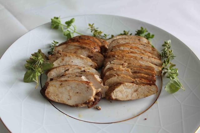 Balsamvinägermarinerad kyckling