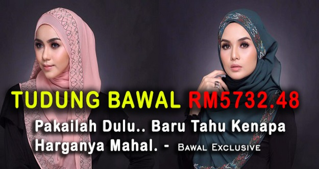 Patutlah Mahal Sangat! Tudung Cecah Harga RM5700, Ini Penjelasan Sebenar Bawal Exclusive Mengapa Harganya MAHAL.