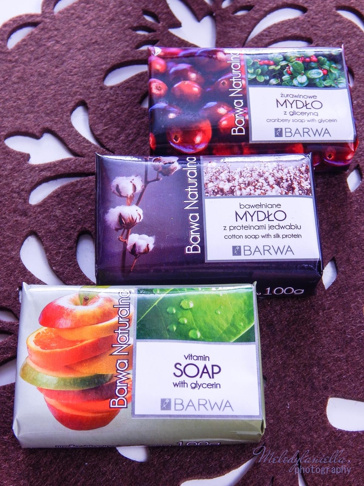 9 barwa naturalna kosmetyki mydła recenzja barwa mydło naturalne szampon naturalny mydło w płynie owoce natura hipoalergiczne kremy do rąk mydła w kostce