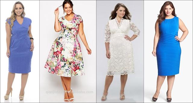 Lindos vestidos Plus Size