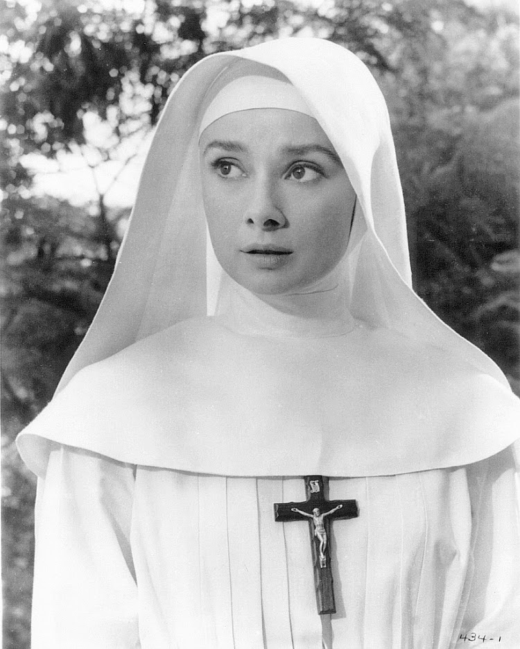 A Vintage Nerd, Vintage Blog, Audrey Hepburn, Audrey Hepburn Films,  Classic Film Blog, Old Hollywood Blog, 1960s Audrey Hepburn, A Nun's Story
