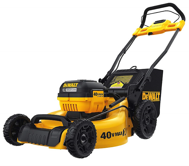 best dewalt 40v battery lawnmower