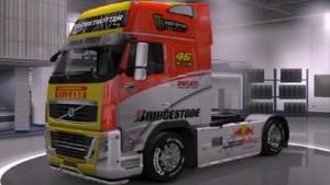 Volvo 2009 Racing skin mod