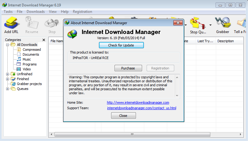 internet  manager full version free  for windows 7 with patch