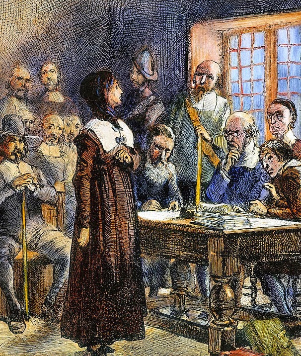 John Cotton Minister England Colonial: Anne Hutchinson Banished From Boston