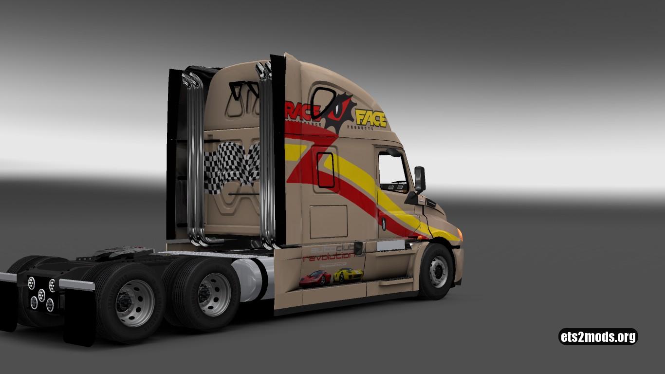 Race Skin for Freightliner Cascadia 2018