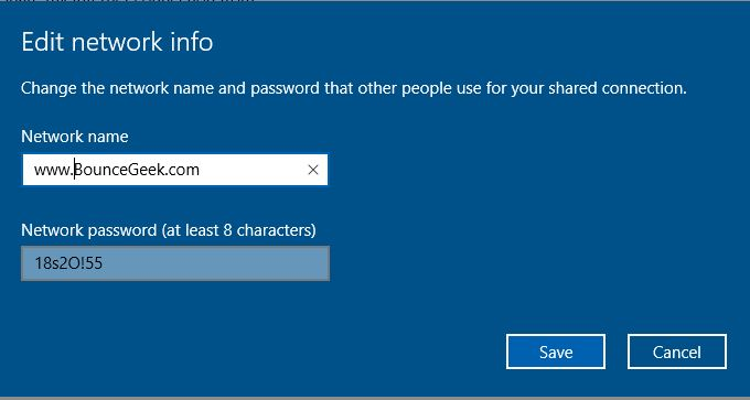 How to turn on WiFi Hotspot in Windows 10 with anniversary Update. 4