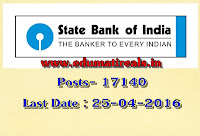 http://www.edumatireals.in/2016/04/state-bank-of-india-recruitment-17140.html